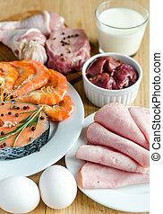 タンパク質, 食事, 原料