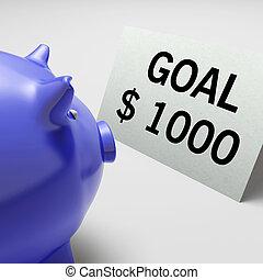 ターゲット, ドル, 目標, 計画, ゴール, ショー
