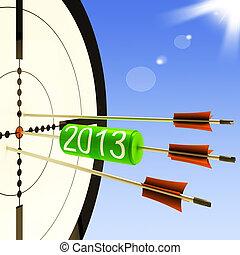 ターゲット, ビジネス, 予報, 計画, 2013, ショー