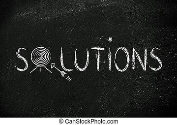 ターゲット, リーチ, 解決, business:, あなたの, 最も良く, 定義しなさい