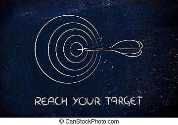 ターゲット, 権利, リーチ, business:, あなたの, 市場, 定義しなさい