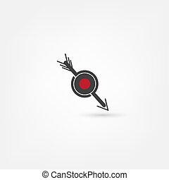 ターゲット, 矢