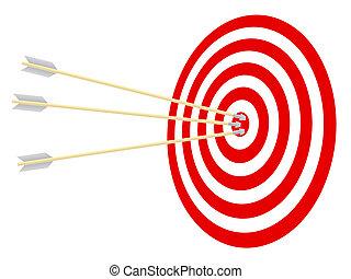 ターゲット, arrows.