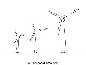 タービン, エネルギー, 選択肢, 風