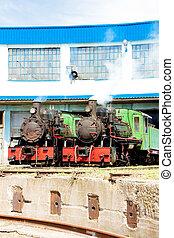ターミナル, 蒸気機関車