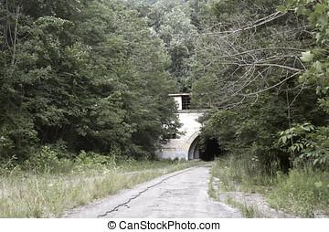 ターンパイク, トンネル, 捨てられた