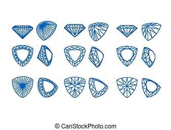 ダイヤモンド形, コレクション