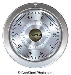 ダイヤル錠, ∥で∥, 鍵穴