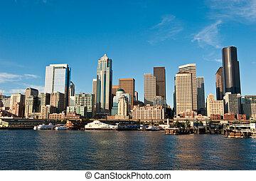 ダウンタウンに, シアトル, アメリカ
