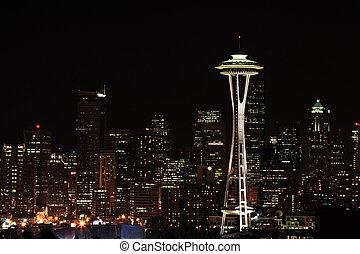 ダウンタウンに, シアトル