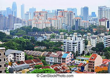 ダウンタウンに, 住宅の, シンガポール