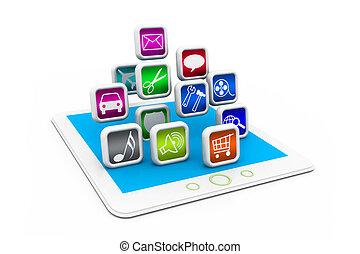 ダウンロード, apps