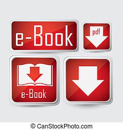 ダウンロード, ebook