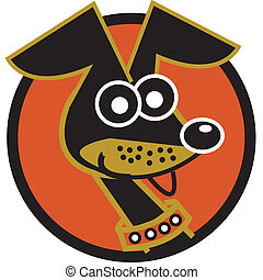 ダックスフント, 芸術, 漫画, クリップ, 犬