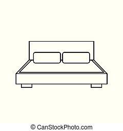 ダブル・ベッド, アイコン