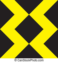 ダブル, タワー, 黄色, x