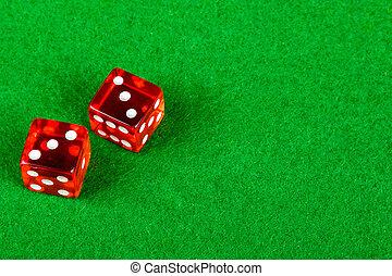 ダブル, 提示, さいころ, サイコロ賭博, 3