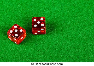 ダブル, 提示, 5, さいころ, サイコロ賭博