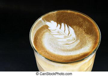 ダブル, 芸術, latte
