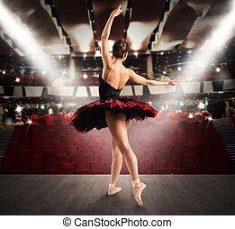 ダンサー, 劇場, 古典である