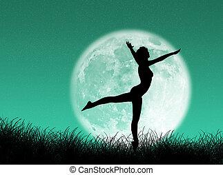 ダンサー, 月