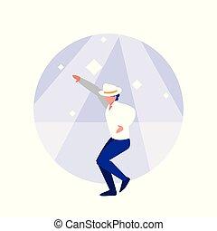ダンサー, 特徴, avatar, 人, ディスコ