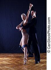 ダンサー, 舞踏会場