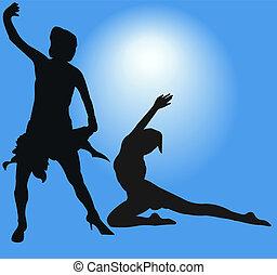 ダンス少女たち