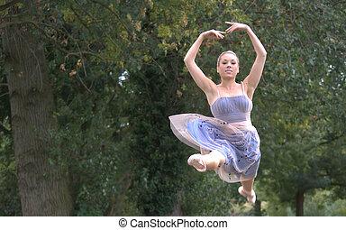 ダンス, によって, ∥, 森林