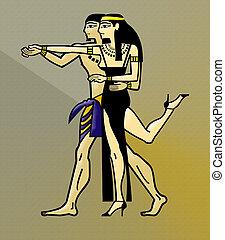 ダンス, エジプト人