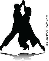 ダンス, シルエット