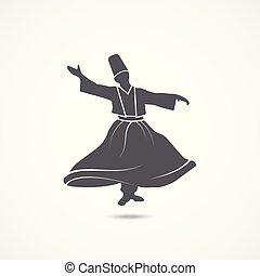 ダンス, ダルウィーシュ, アイコン