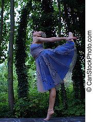 ダンス, 中に, ∥, 森林