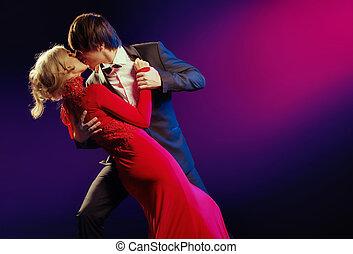 ダンス, 優雅である, 恋人, 愛