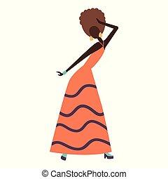 ダンス, 楽しみ, 女の子, パーティー。, 持つこと, 幸せ