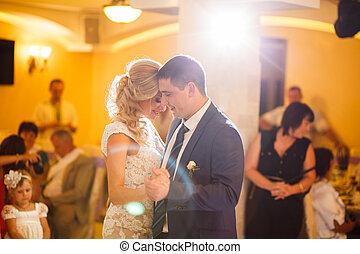 ダンス, 花嫁, 花婿
