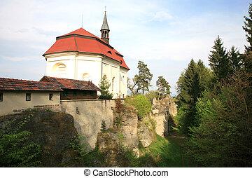 チェコ共和国, 城, valdstejn