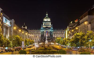 チェコ, 国立博物館, プラハ, 光景