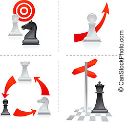 チェス, 比喩, -, 2