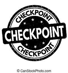 チェックポイント, 切手, ∥あるいは∥, 印