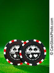 チップ, ギャンブル