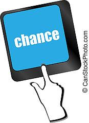 チャンス, ボタン, キー, キーボードコンピュータ