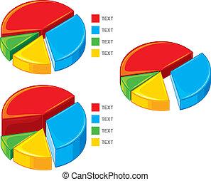 チャート, (pie, graph), チャート, パイ