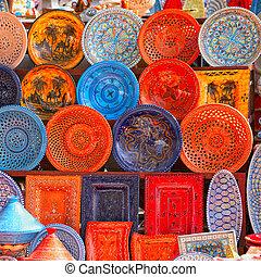チュニジア, 土器, 市場