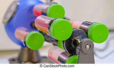チューブ, デジタル, 終わり, 混合, rotisserie, liquid:, 回転子, 生物学である, ...