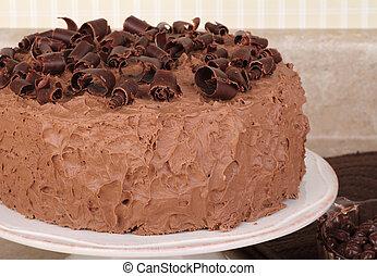 チョコレートレイヤケーキ