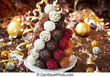 チョコレート, トリュフ