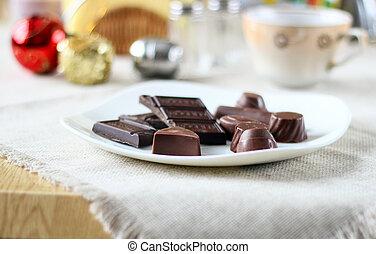チョコレート, 甘いもの