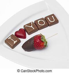 チョコレート, 聖者, バレンタイン
