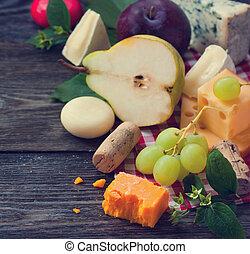 チーズ, そして, 成果
